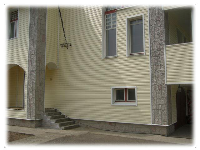Деревянные дома с отделкой фасада