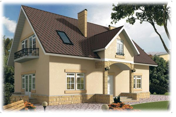 Фасад и утепление дома пенополистиролом